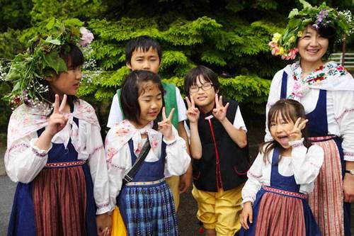 Ngôi làng 'Đồi Thụy Điển' cực dễ thương ở Nhật Bản - 9
