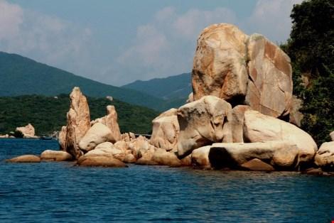 Ngắm cảnh đẹp tuyệt vời trên biển Đầm Môn - 6