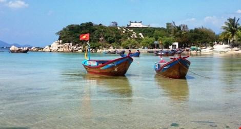 Ngắm cảnh đẹp tuyệt vời trên biển Đầm Môn - 11