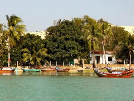 Ngắm cảnh đẹp tuyệt vời trên biển Đầm Môn - 4