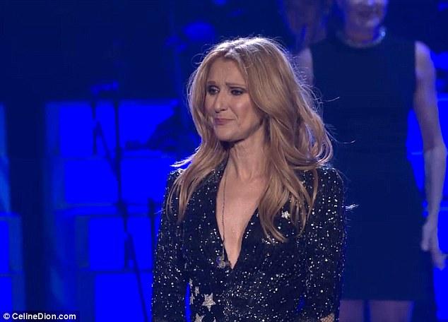 """Video: Celine Dion """"rút ruột gan"""" nói về chồng quá cố - 1"""