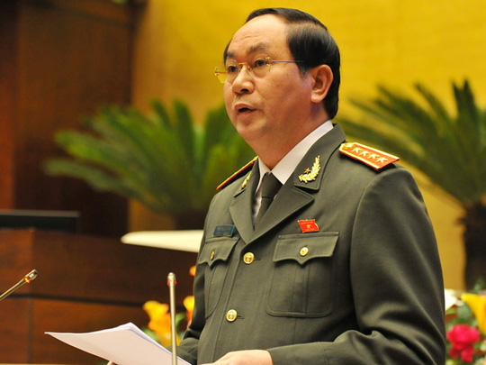 Tháng 3, Bộ trưởng Trần Đại Quang trình QH Luật Biểu tình - 1