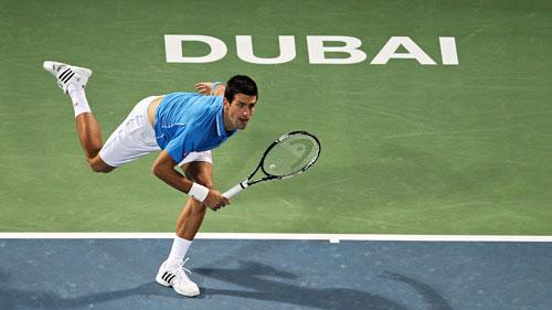 Djokovic - Malek Jaziri: Cột mốc đáng nhớ (V2 Dubai) - 1