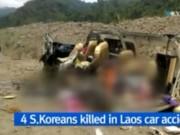 Video An ninh - TNGT thảm khốc ở Lào, hàng chục du khách thương vong