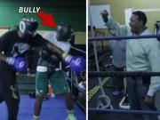 """Thể thao - Yêu cho roi cho vọt: Cha """"ném"""" con lên sàn boxing"""