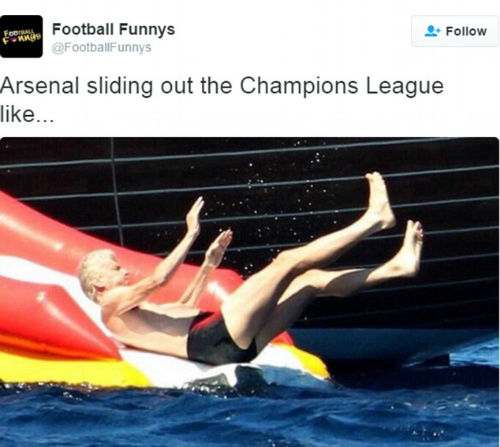 Ảnh chế Arsenal thua Barca: Messi hạ knock-out Cech - 5