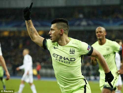 Dynamo Kiev - Man City: Tuyệt phẩm phút 90 - 1