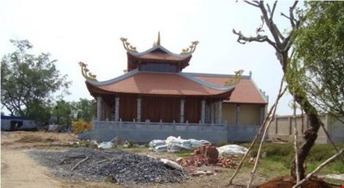 Tạm đình chỉ công trình nhà thờ tổ nghiệp của Hoài Linh - 3
