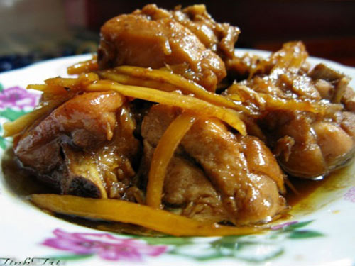 Thịt gà kho gừng thơm cay ngon tuyệt - 2