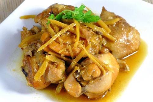 Thịt gà kho gừng thơm cay ngon tuyệt - 3