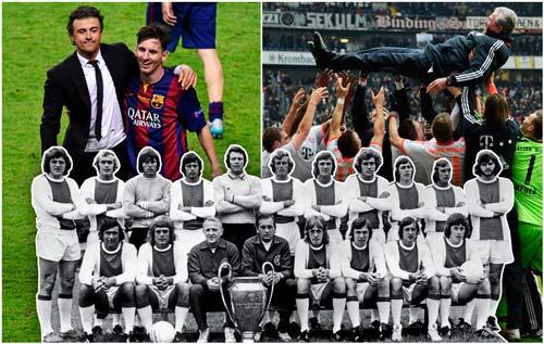 2 năm liền ăn ba, Messi sẽ vượt Guardiola và Cruyff - 1
