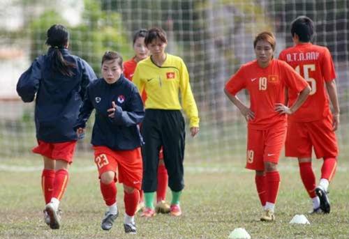 Tuyển nữ Việt Nam quyết tạo kỳ tích như Futsal - 1