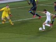 """Video bóng đá hot - SAO trẻ Real solo ghi bàn """"dẻo"""" như Zidane"""