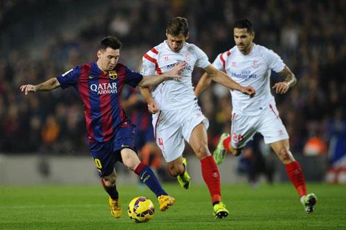 """Liga trước V26: """"Ngư ông"""" Barca hướng tới kỉ lục - 2"""