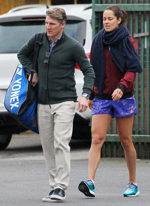 Schweinsteiger chấn thương dai dẳng vì mỹ nhân tennis? - 3