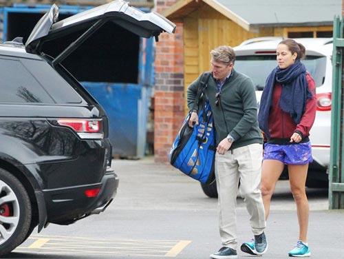 Schweinsteiger chấn thương dai dẳng vì mỹ nhân tennis? - 4