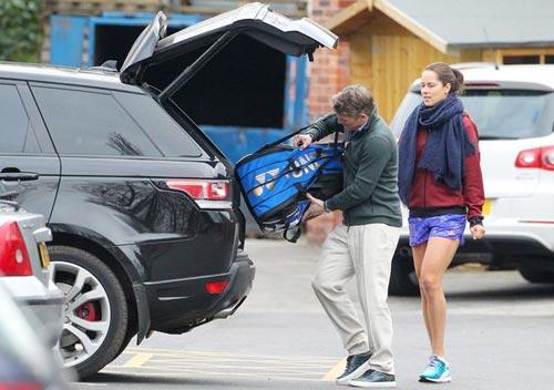 Schweinsteiger chấn thương dai dẳng vì mỹ nhân tennis? - 5
