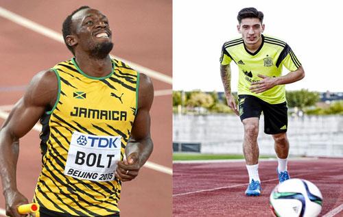 Usain Bolt phủ nhận kỉ lục bứt tốc của SAO Arsenal - 1