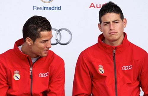 """""""Ế hàng"""" với Ronaldo, Real sẽ bán James sang MU - 2"""