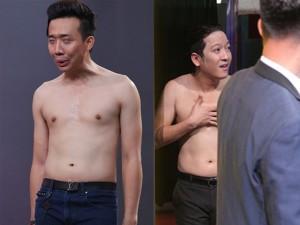 """Phim - Ngắm thân hình """"một múi"""" của Trấn Thành, Trường Giang"""