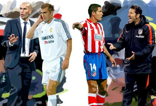 Real Madrid – Atletico Madrid: Đại chiến 2 trường phái - 2