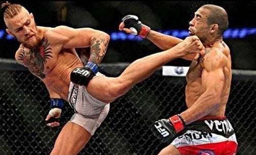 """UFC: """"Gã điên"""" McGregor không sợ khó, đánh là sướng - 2"""