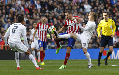 Chi tiết Real Madrid – Atletico: Cú đấm duy nhất (KT) - 4