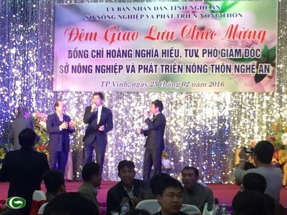 Bí thư Nghệ An chỉ đạo xử nghiêm vụ tiệc mừng tân PGĐ Sở - 1