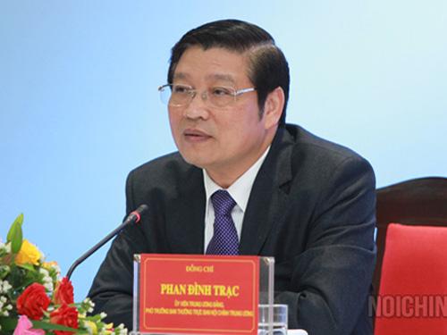 Ông Phan Đình Trạc làm Trưởng Ban Nội chính Trung ương - 1