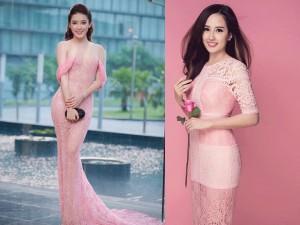 Thời trang - 24 chiếc váy hồng thạch anh gợi cảm của mỹ nhân Việt