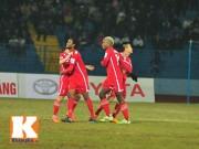 Bóng đá - Sôi động V-League 28/2: Bàn tay nhỏ ở sân Lạch Tray (KT)