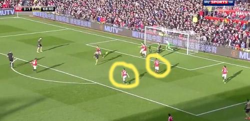 """Góc chiến thuật MU - Arsenal: """"Thảm họa"""" phòng ngự - 10"""