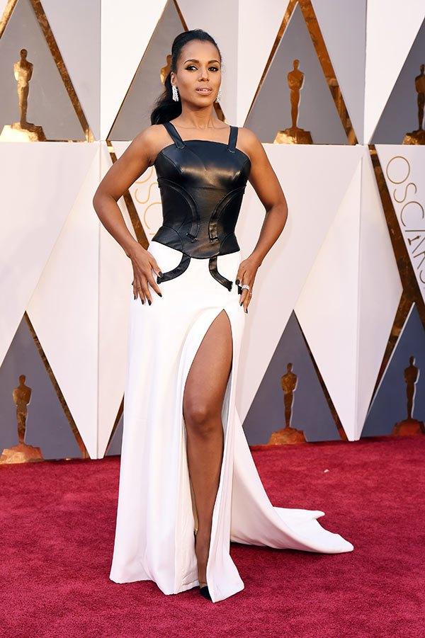 Váy hở vai, cổ V gợi cảm phủ kín thảm đỏ Oscar - 13