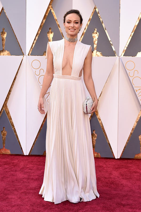 Váy hở vai, cổ V gợi cảm phủ kín thảm đỏ Oscar - 19