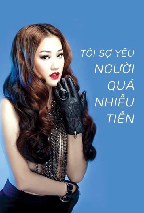 """Mỹ nhân Việt và những phát ngôn """"ngàn vàng"""" về đại gia - 5"""