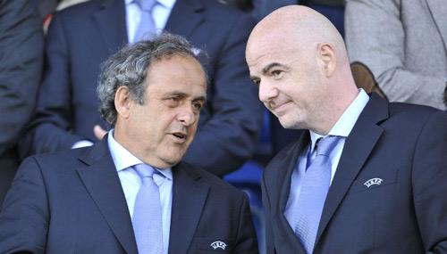 """Nghi án tân chủ tịch FIFA được Platini """"giật dây"""" - 1"""