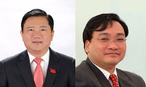Ông Hoàng Trung Hải, Đinh La Thăng vẫn là thành viên Chính phủ - 1
