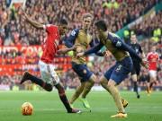 """Bóng đá - Góc chiến thuật MU - Arsenal: """"Thảm họa"""" phòng ngự"""