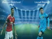 Bóng đá - Siêu sao ấn tượng: Rashford đâu kém tài Messi (Infographic)