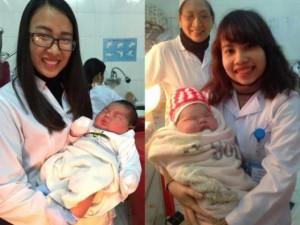 Tin tức trong ngày - Bác sĩ kể lại giây phút bé trai nặng 6,1kg chào đời