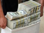 Giá USD tụt dốc xuống dưới 22.200 đồng