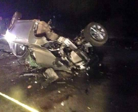 Hai ô tô con đấu đầu, 4 người tử vong tại chỗ - 1