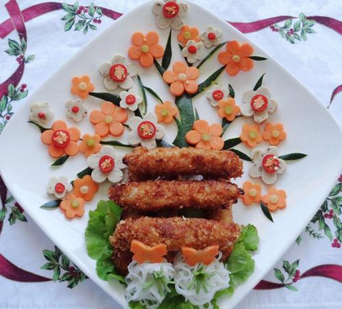 Cách làm nem chua rán giòn ngon và dễ dàng - 8