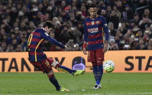"""Nguyên tắc vật lí """"giúp"""" Messi sút phạt hoàn hảo - 1"""