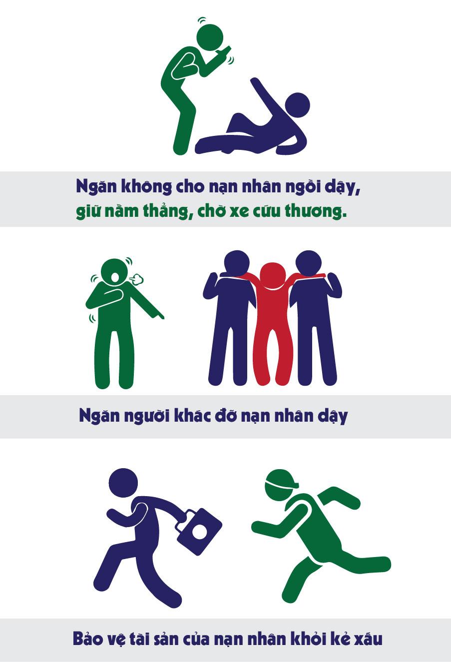 Infographic: Điều tuyệt đối cấm khi sơ cứu người bị TNGT - 4