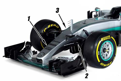 """F1, Mercedes W07: Vẫn là """"chiến mã"""" vô địch - 1"""