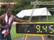 """Clip Đặc Sắc - Nóng: Tìm ra """"siêu nhân"""" chạy nhanh hơn Bolt"""