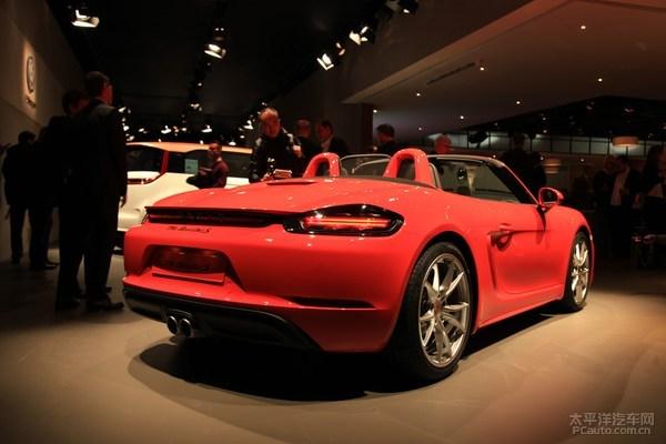 "Porsche 718 Boxster S ""sắc hồng sặc sỡ"" sắp ra mắt - 2"
