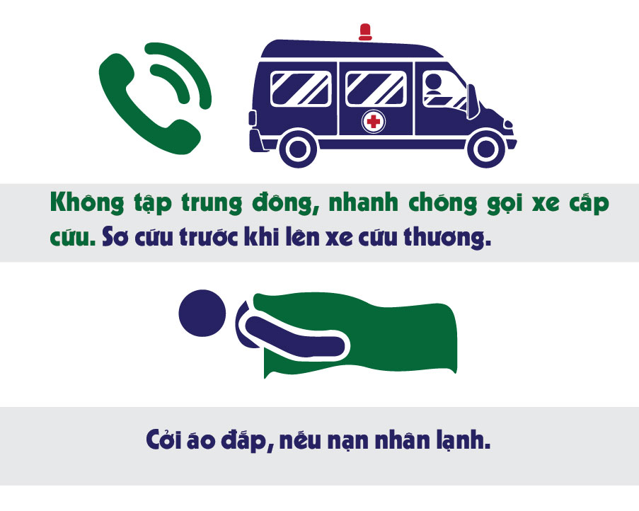 Infographic: Điều tuyệt đối cấm khi sơ cứu người bị TNGT - 3