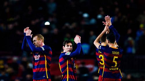 Barca trên đường phá kỷ lục 100 điểm của Mourinho - 1